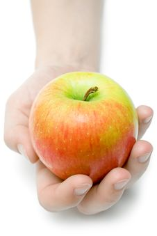 Free Offering An Apple Royalty Free Stock Images - 2159899