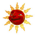 Free 3D Smiling Sun Stock Photography - 21506632
