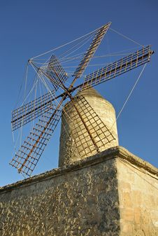 Free Spanish Windmill Stock Photo - 21500810