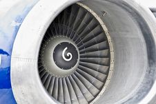Free Jet Engine Front Stock Image - 21504861