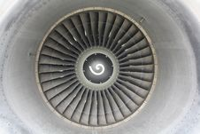 Free Jet Engine Front Royalty Free Stock Photos - 21505068