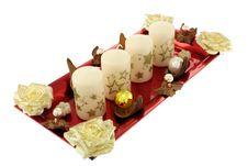 Free Christmas Wreath Royalty Free Stock Photo - 21507535