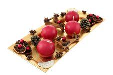 Free Christmas Wreath Stock Image - 21507561