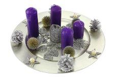 Free Christmas Wreath Royalty Free Stock Image - 21507626