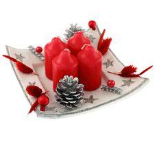 Free Christmas Wreath Royalty Free Stock Photo - 21507715