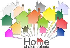 Free Dilema Housing Selection Stock Photography - 21509162