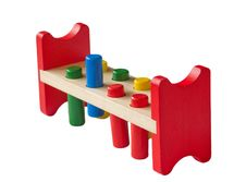 Wooden Learning Toy Stock Photography