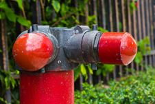 Free Fire Hoses. Stock Photos - 21516483