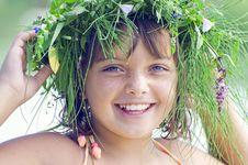 Free Happy Smiling Girl 2 Stock Photos - 21516953