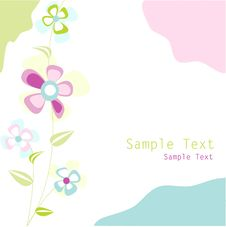 Free Floral Card Stock Photography - 21517792