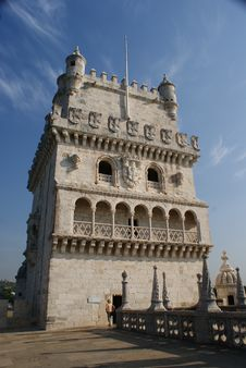 Free Detail Of Belem Tower Royalty Free Stock Images - 21519389