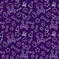 Free Skull-poison Pattern Stock Photos - 21521123