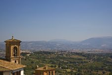 Free Bell, Hills And Countryside Perugia Stock Photos - 21520263