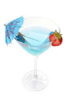 Free Blue Cocktail Stock Images - 21521354