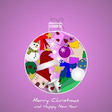 Free Original Christmas Background Royalty Free Stock Photo - 21521555