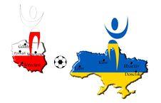Free Map Euro 2012 Royalty Free Stock Photos - 21522568