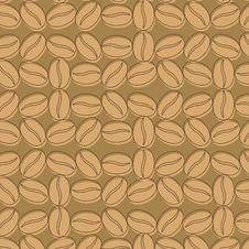Free Coffee Background Seamless Pattern Stock Photos - 21523763