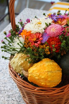 Free Colorful Basket Royalty Free Stock Images - 21523819