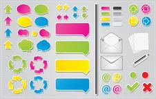 Free Communication Icons Stock Photography - 21524472