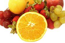 Free Varied Fruit. Royalty Free Stock Image - 21525426