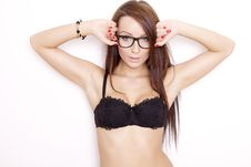 Free Beautiful Adult Sensuality Woman Royalty Free Stock Photography - 21528977