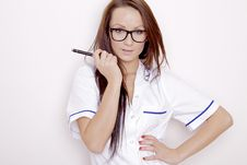 Free Confident Professional Doctor Stock Photos - 21529163