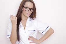 Free Confident Professional Doctor Royalty Free Stock Photography - 21529167