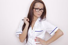 Free Confident Professional Doctor Royalty Free Stock Photo - 21529235