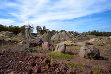 Free Colorful Quarry Stock Images - 21529614