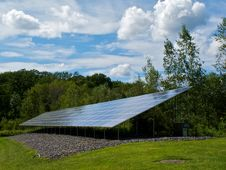 Free Solar In The Country Royalty Free Stock Photography - 21529707