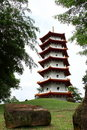 Free Pagoda And Stone Royalty Free Stock Photography - 21538147
