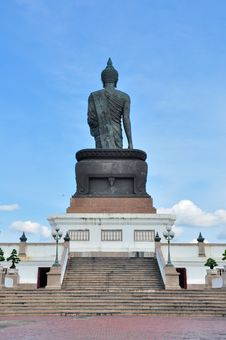 Big Buddha Image At Phutthamonthon Royalty Free Stock Images