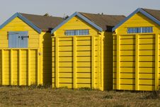 Free Beach Huts Stock Image - 21532231