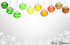 Free Merry Christmas Stock Photography - 21532972
