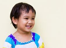 Free Thai Child Smile. Royalty Free Stock Images - 21533249
