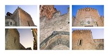 Free Cathedral Of Taormina Royalty Free Stock Photography - 21537397