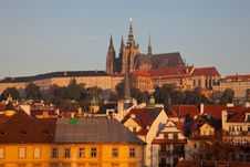 Free Prague Castle Complex, Detail Royalty Free Stock Images - 21538619