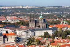 Free Prague Castle Complex, Detail Royalty Free Stock Images - 21538659