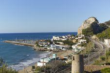 Free Garraf Coastal Town Stock Photo - 21539890