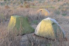 Free Camping Tents Royalty Free Stock Photos - 21539908