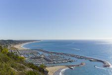 Free Garraf Coastal Town Stock Image - 21540131