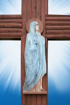 Free Virgin Mary Praying Royalty Free Stock Photography - 21540857