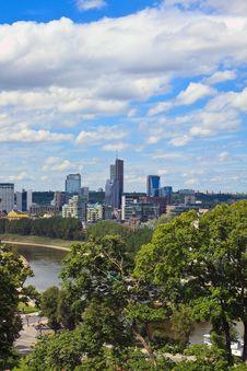 Vilnius City Royalty Free Stock Photos