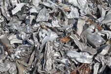 Free Compressed Cars For Recycling Stock Photo - 21542670