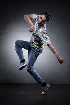 Free Hip Hop Dancer Royalty Free Stock Photos - 21543628