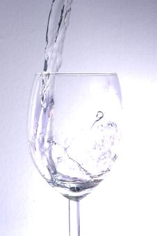 Free Water In A Glass Royalty Free Stock Photography - 21543877
