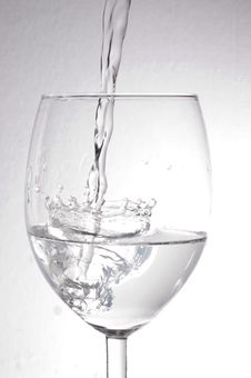 Free Water In A Glass Stock Image - 21543931
