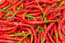 Free Red Hot Chili Pepper Background Stock Photos - 21546813