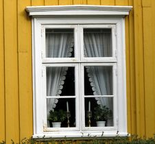 Window, Bodo, Norway Stock Photography