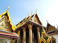 Free Wat Phra Kaew,Temple Of The Emerald, Bangkok Royalty Free Stock Photos - 21550388